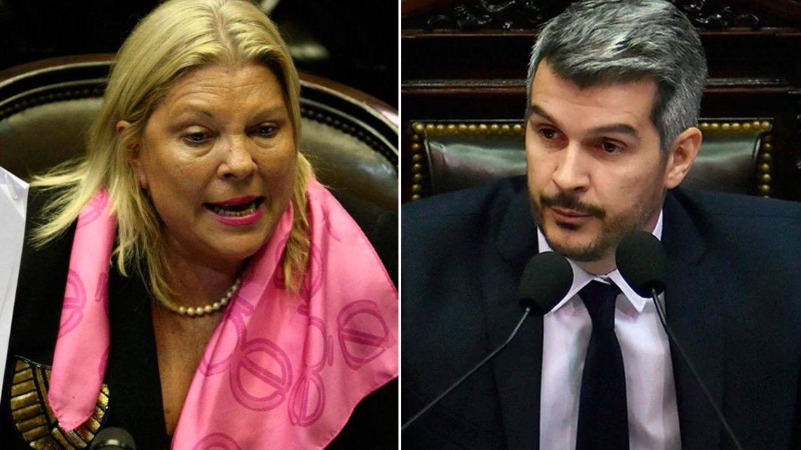 Carrio arremetió contra los dirigentes de Cambiemos por borrarse en la elección de Córdoba