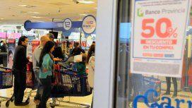 Hoy hay descuento del 50% en supermercados de la Ciudad y el Conurbano: ¿qué se puede comprar?