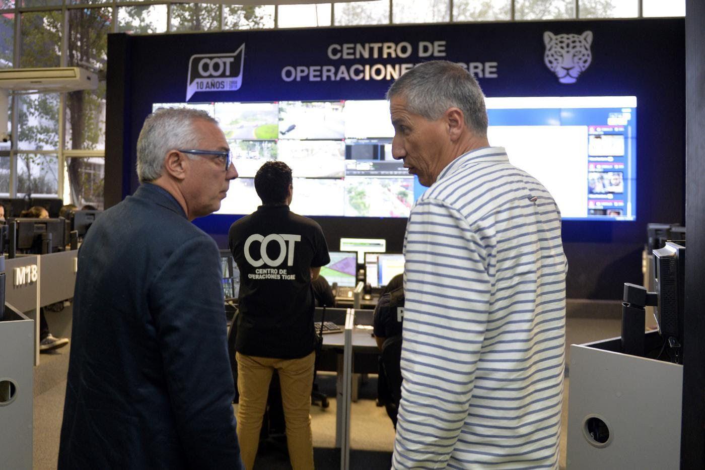 Zamora supervisó la puesta en funcionamiento del nuevo sistema