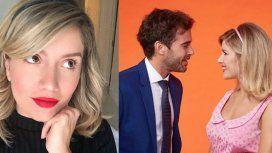 El romántico posteo de Laurita Fernández espiando a Nico Cabré: Lo engancho así y lo admiro
