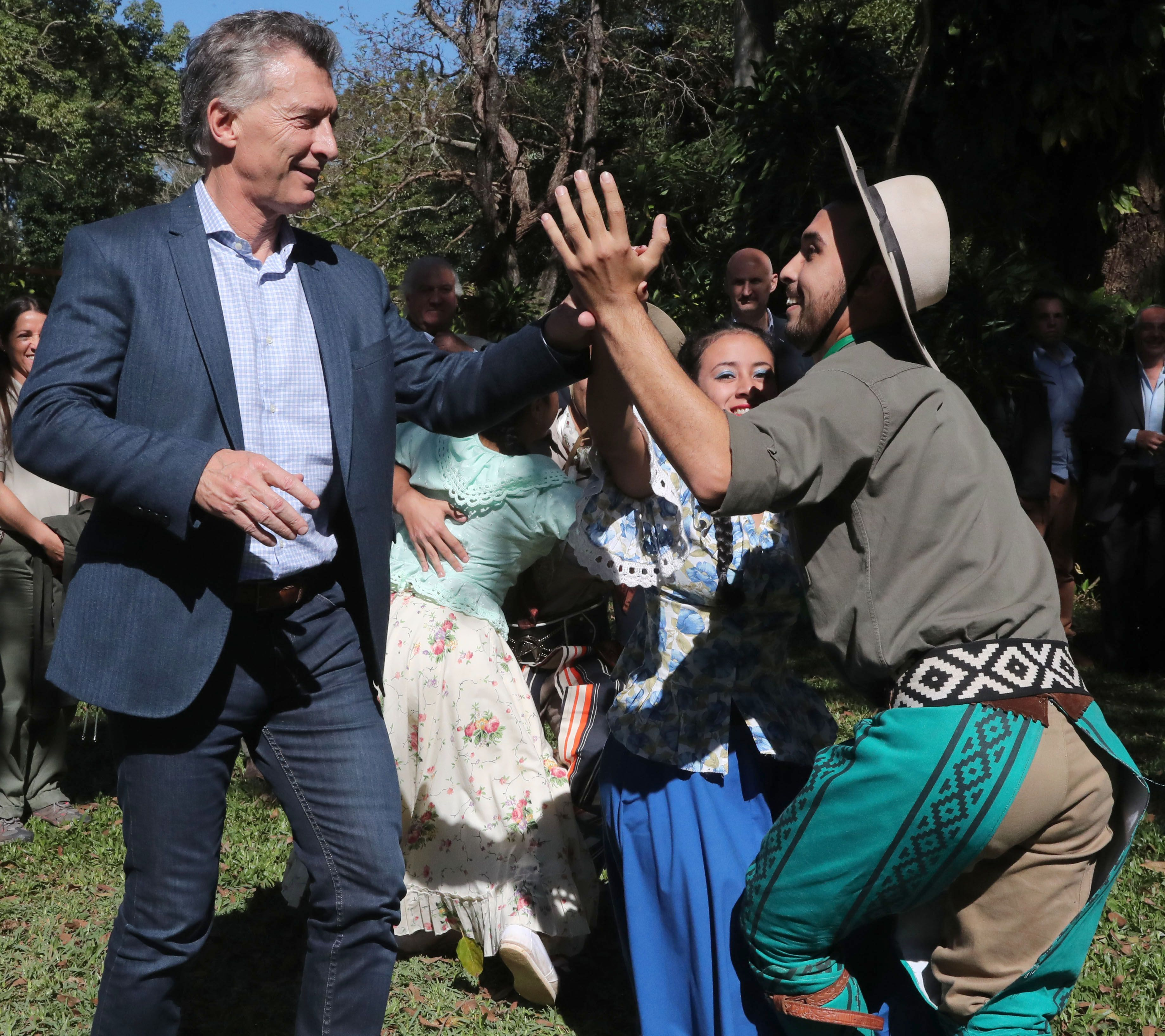 Mauricio Macri en Corrientes