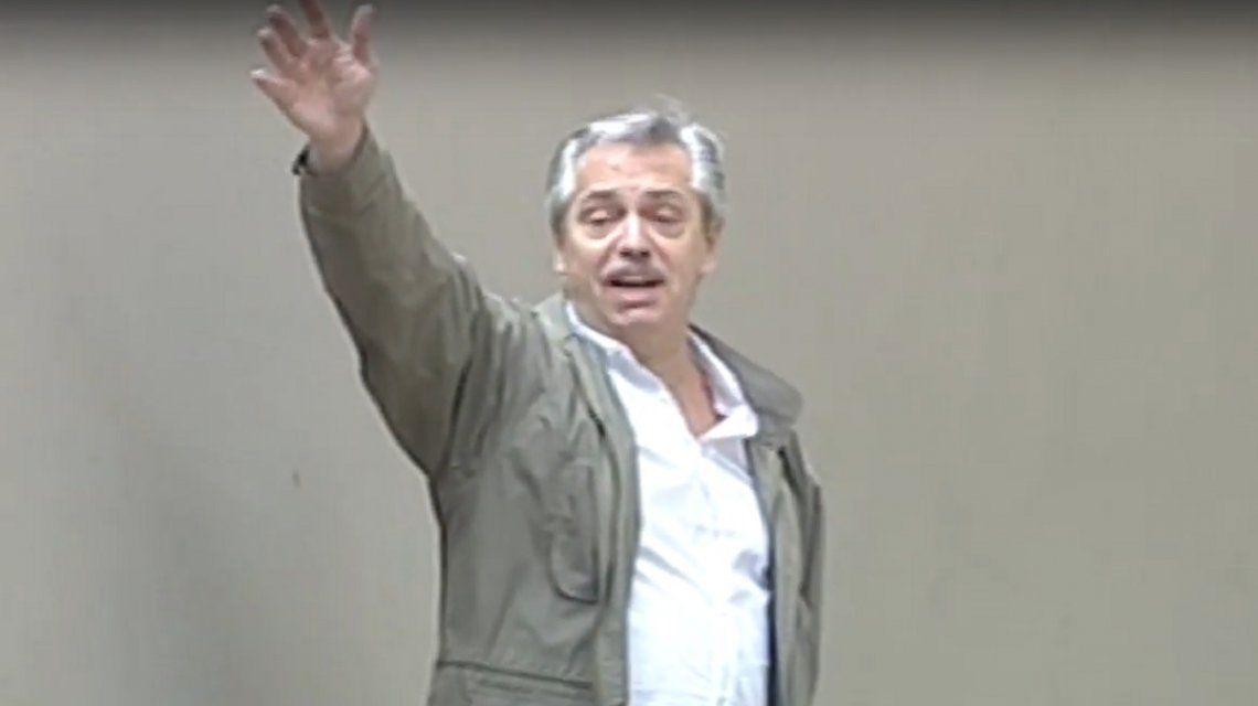 Alberto Fernández: El que toma las decisiones es el presidente pero no voy a prescindir de Cristina
