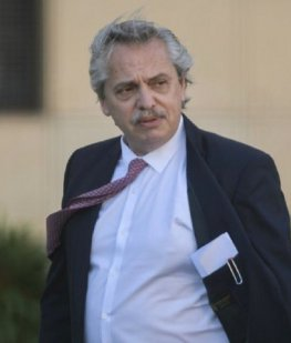 Alberto Fernández, el que habla con los empresarios