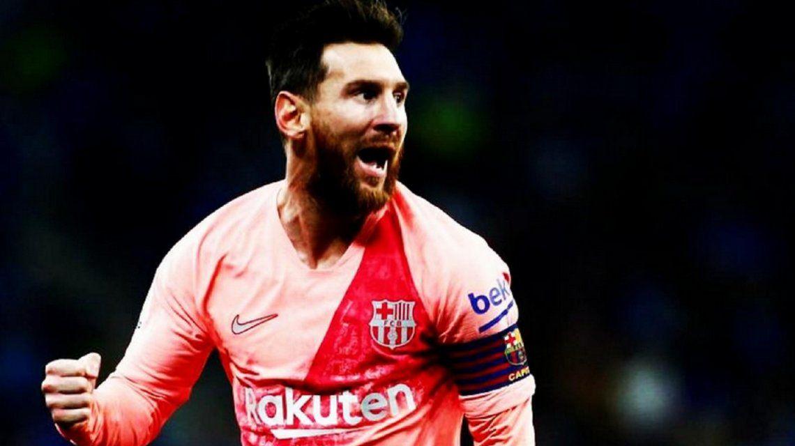 Messi se consagró otra vez goleador de la Liga española