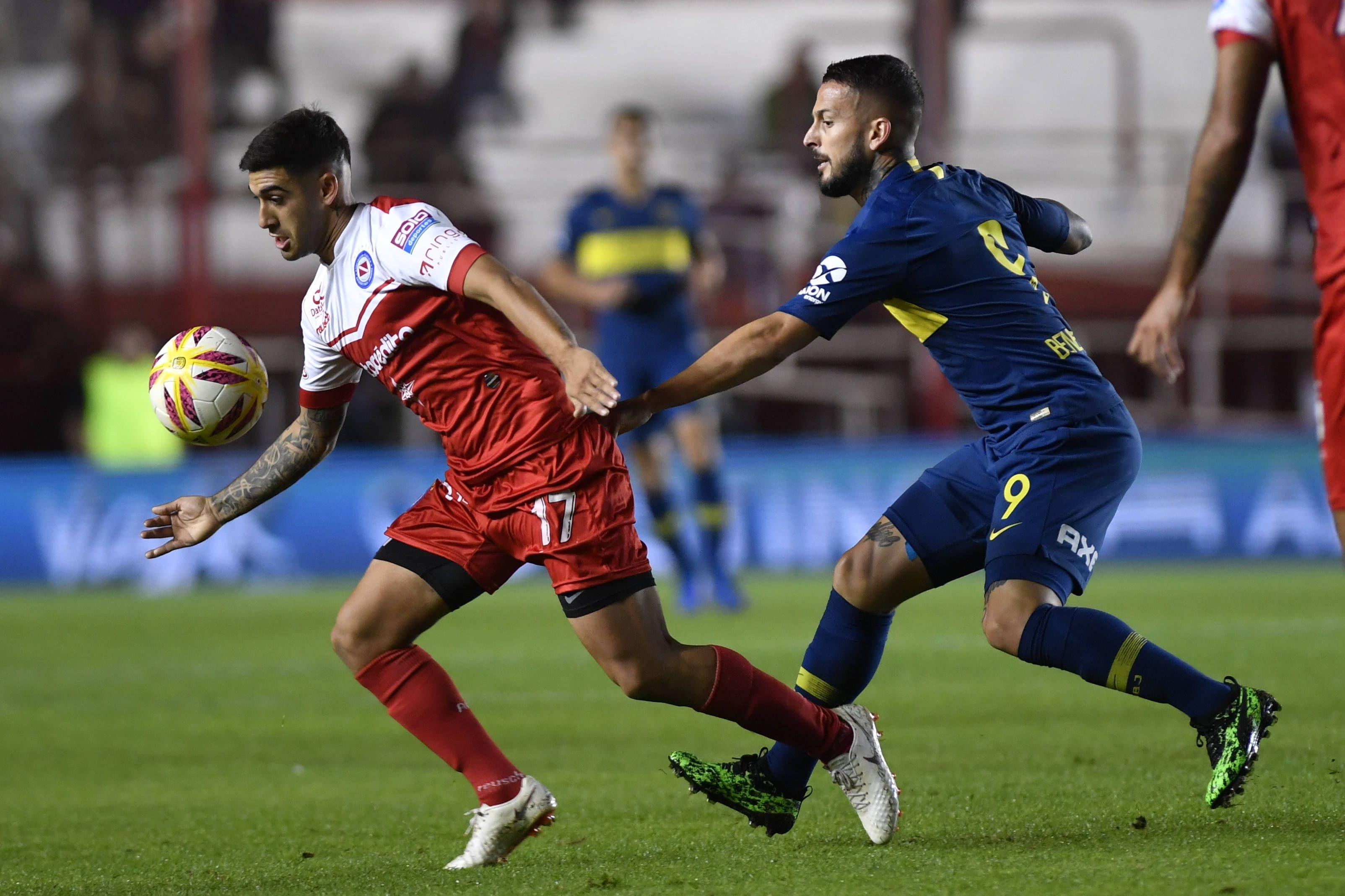 Argentinos y Boca igualaron en la ida de la semifinal de la Copa de la Superliga