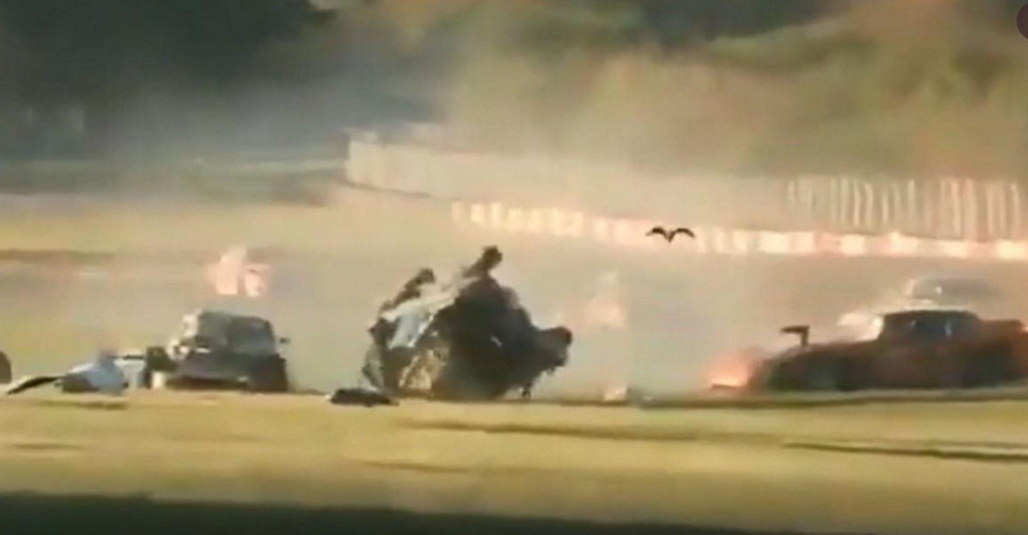 Tragedia en el Autódromo de Buenos Aires: murió un rescatista en un violento choque