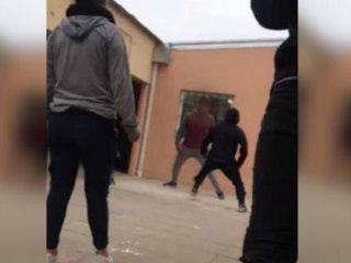 santa fe: un alumno saco una faca durante una pelea en una escuela