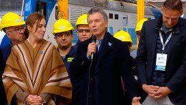 Mientras Cristina llegaba a Comodoro Py, Macri y Vidal hablaron de obra pública