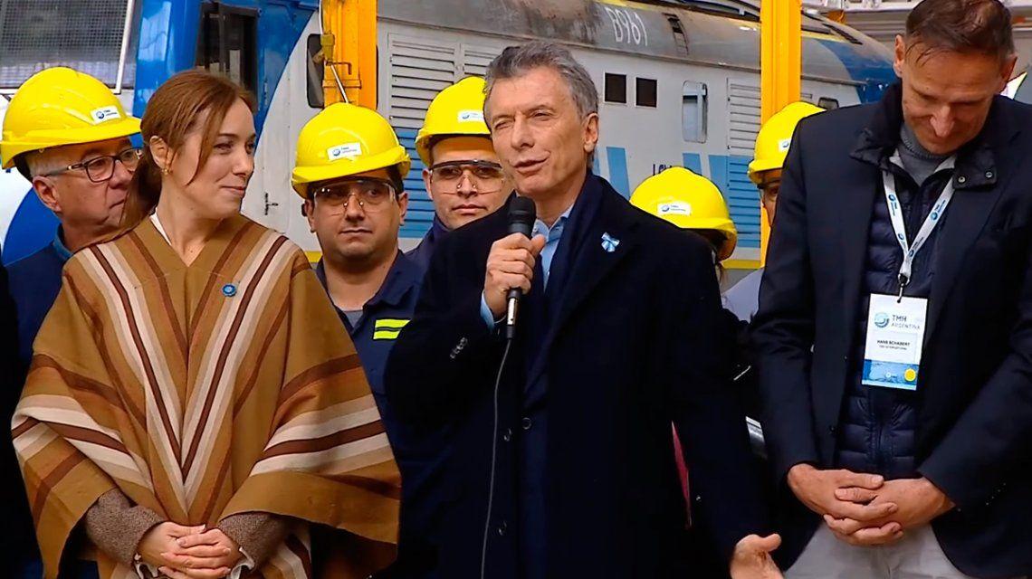 Macri y Vidal hablaron de la obra pública mientras Cristina Kirchner llegaba a Comodoro Py