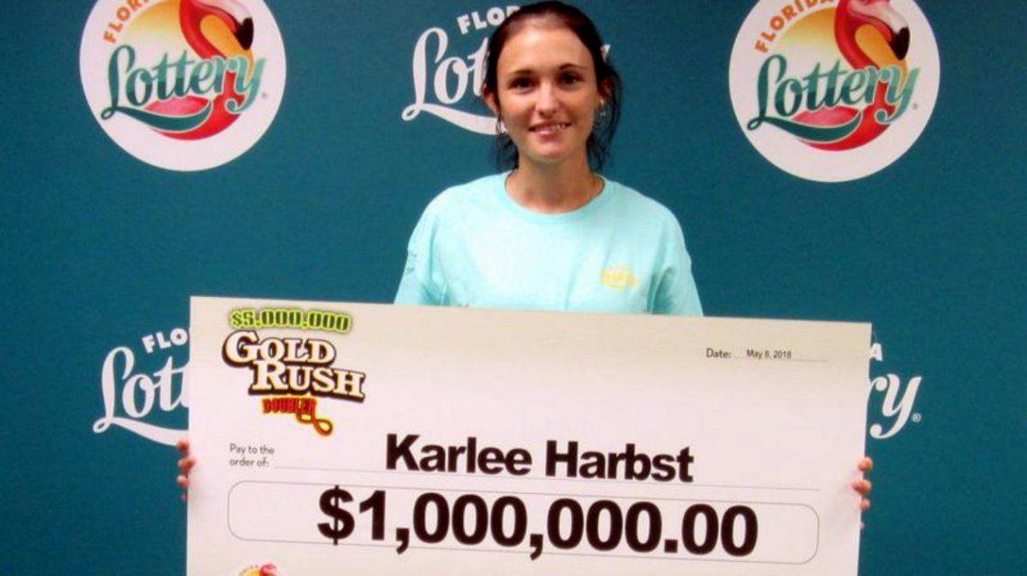 Karlee ganó un millón de dólares y lo invirtió en un negocio ilegal