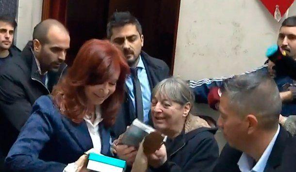 Alejandra Mársico con Cristina Kirchner<br>