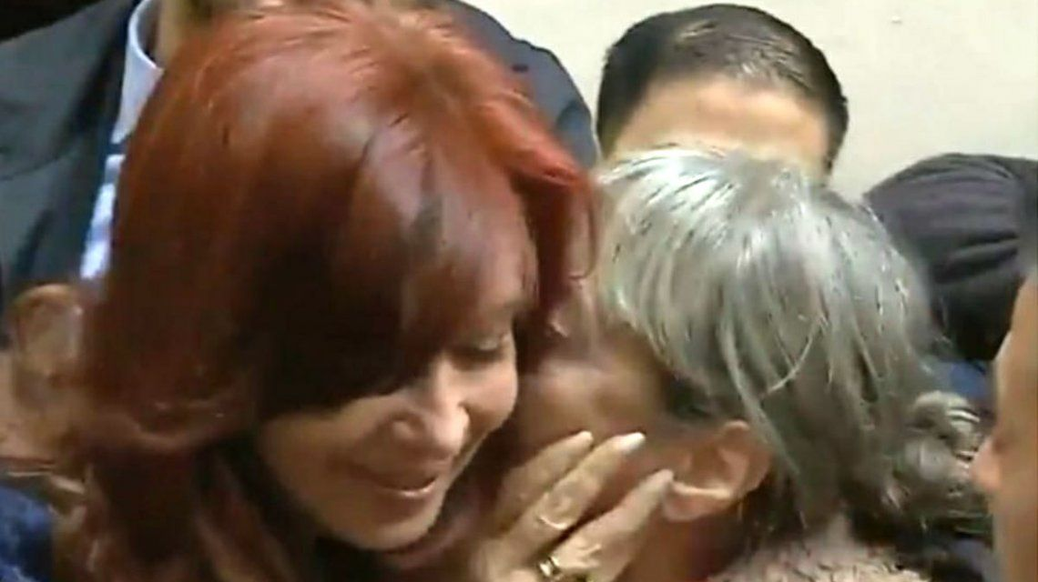 Alejandra Mársico con Cristina Kirchner