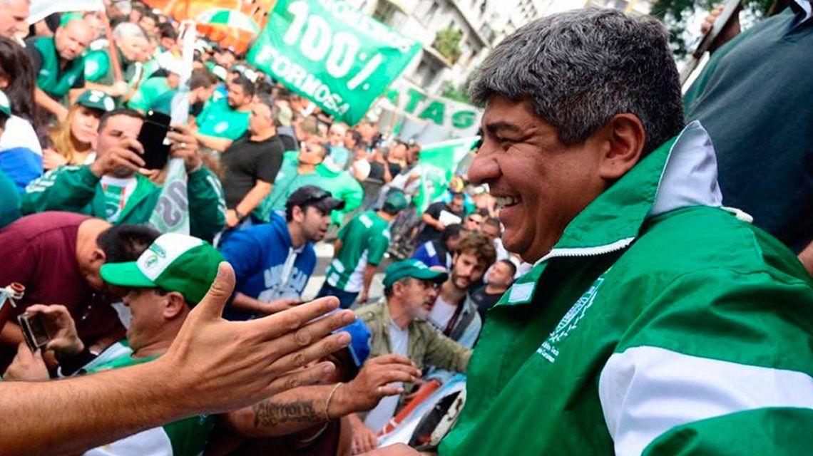 Pablo Moyano anunció que Camioneros adhiere al paro de la CGT y llamó a una movilización