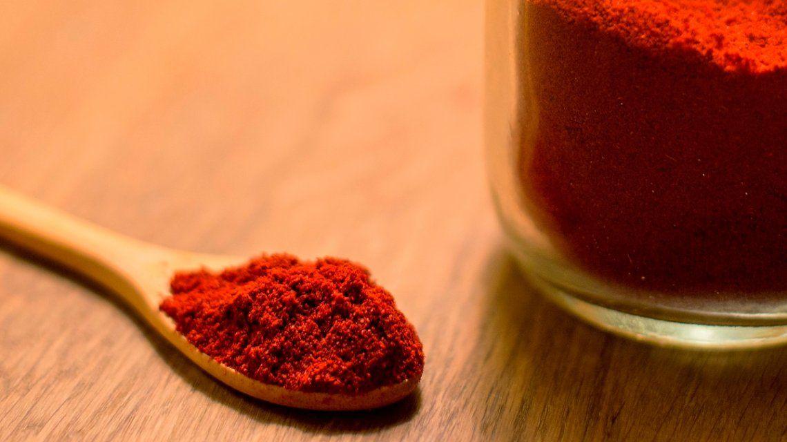 La Anmat prohibió un ají molido y un pimentón extradulce