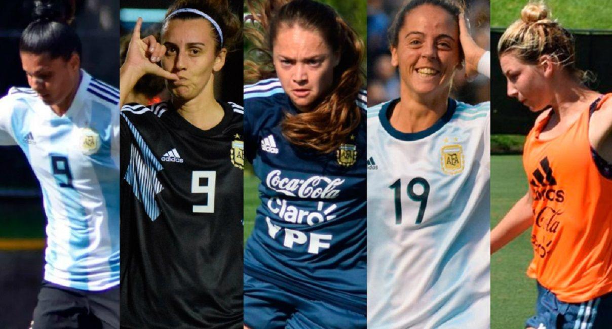 Una por una: los datos de las jugadoras de la Selección argentina que van al Mundial