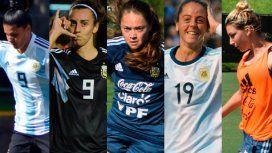 Una por una: los datos de las jugadoras de la Selección que van al Mundial