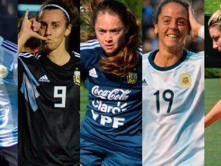 una por una: los datos de las jugadoras de la seleccion argentina que van al mundial
