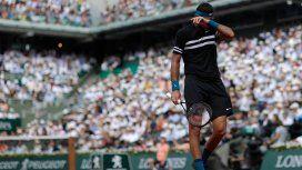 Juan Manuel del Potro en Roland Garros 2018