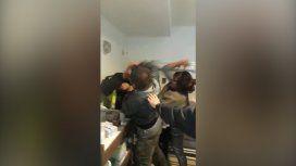 Violenta pelea entre un hombre y una pareja en el Hospital Fernández