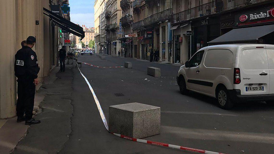 Explosión en Lyon, Francia: al menos 13 personas resultaron heridas