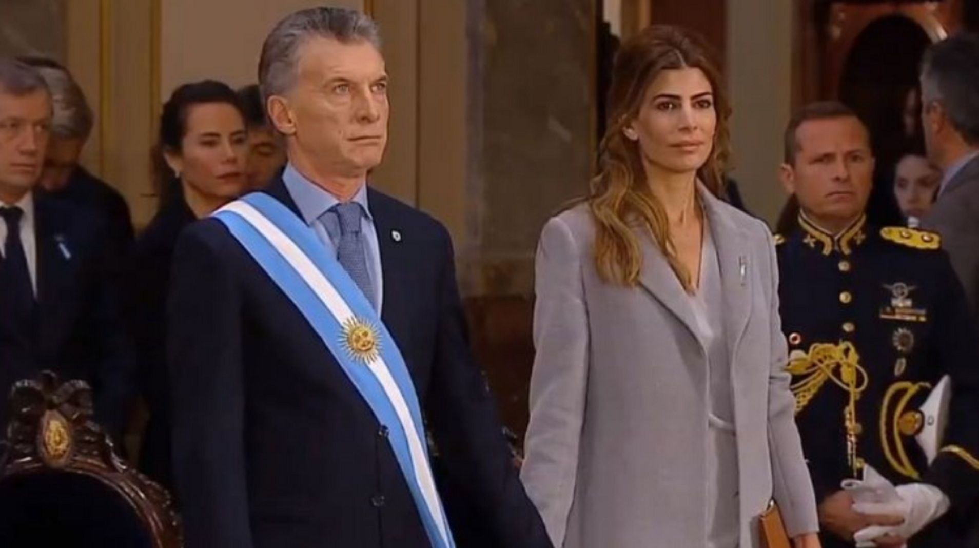 Con Macri y Larreta, el cardenal Poli encabezó el Tedeum por el 25 de Mayo en la Catedral