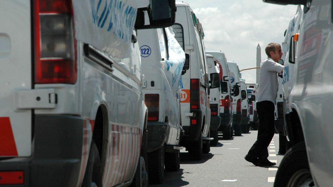Advierten que peligra el servicio de ambulancias privadas en la Ciudad