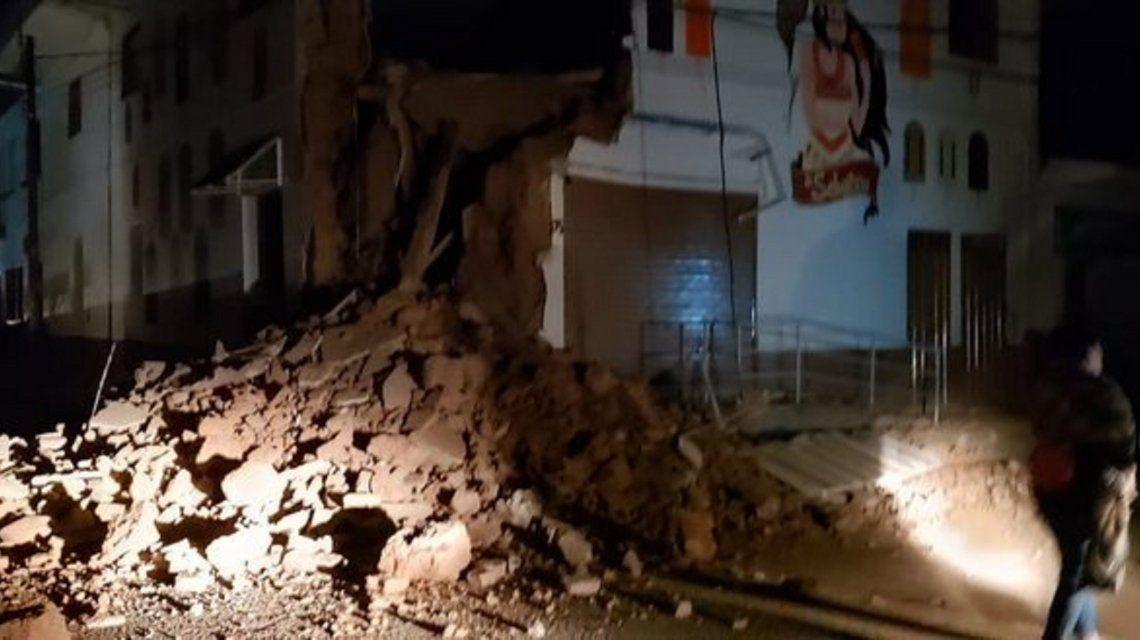 Un fuerte sismo sacudió a Perú, Colombia y Ecuador