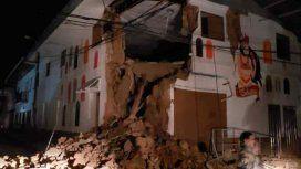 Un fuerte sismo sacudió a Perú