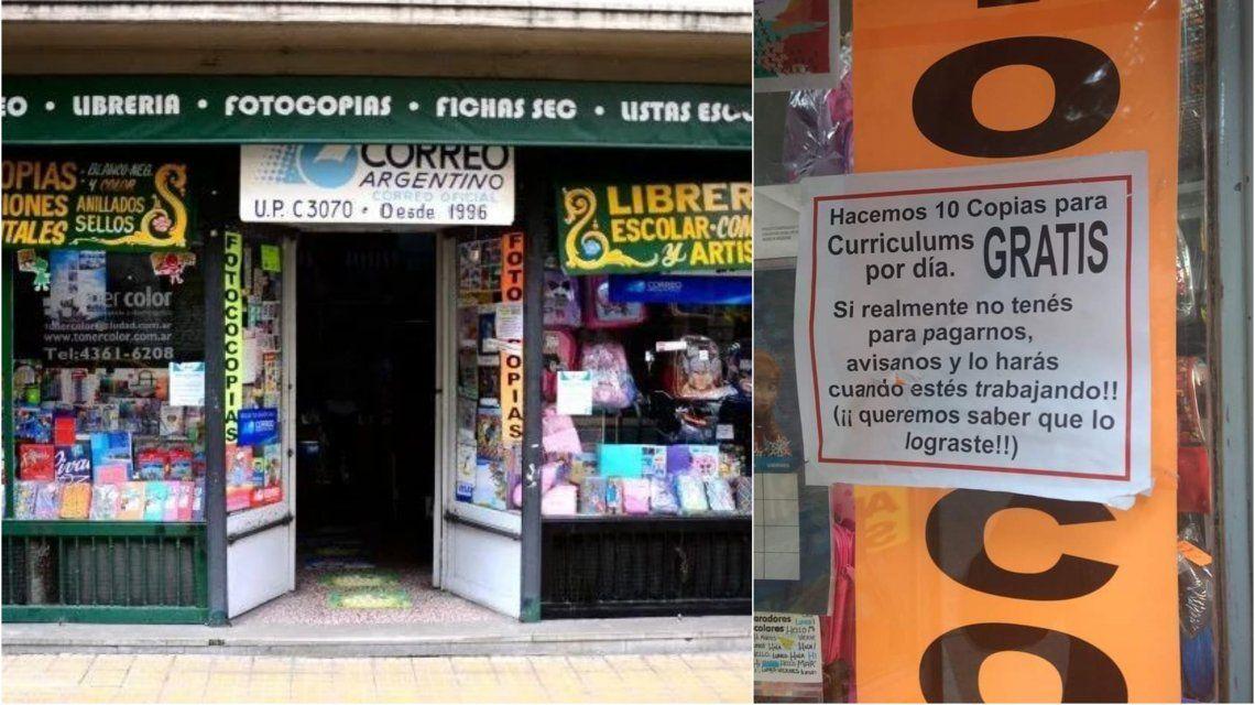 La librería Toner Color está en San Telmo