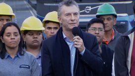 Con tono de campaña, Macri inauguró el Paseo del Bajo junto a Vidal y Larreta