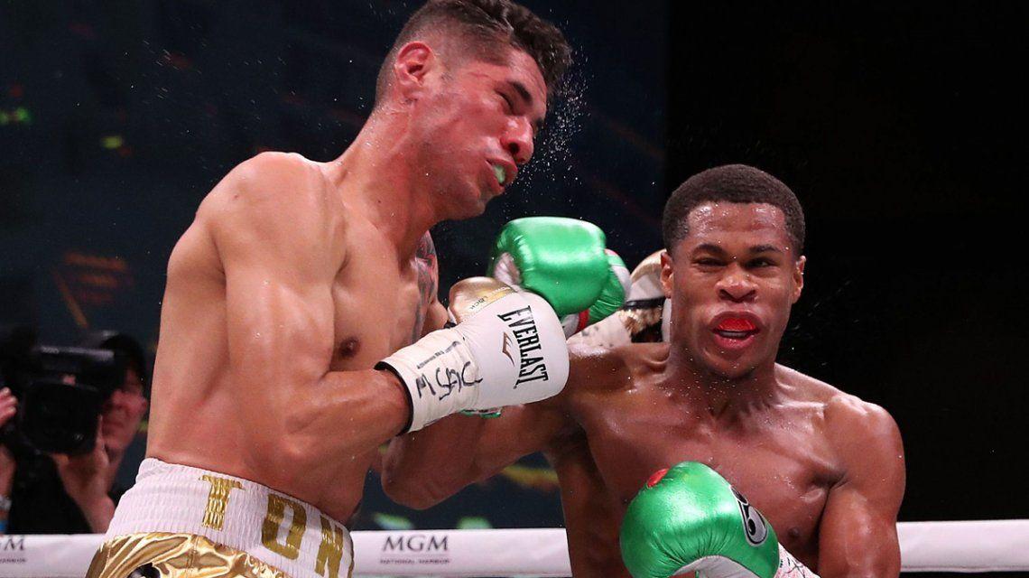 Boxeo: el KO de Devin Haney ante el mexicano Antonio Morán