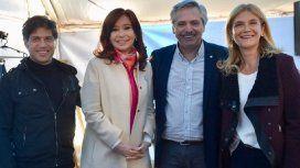 Cristina y Alberto Fernández comienzan a instalar a Kicillof y Magario como opción en Provincia