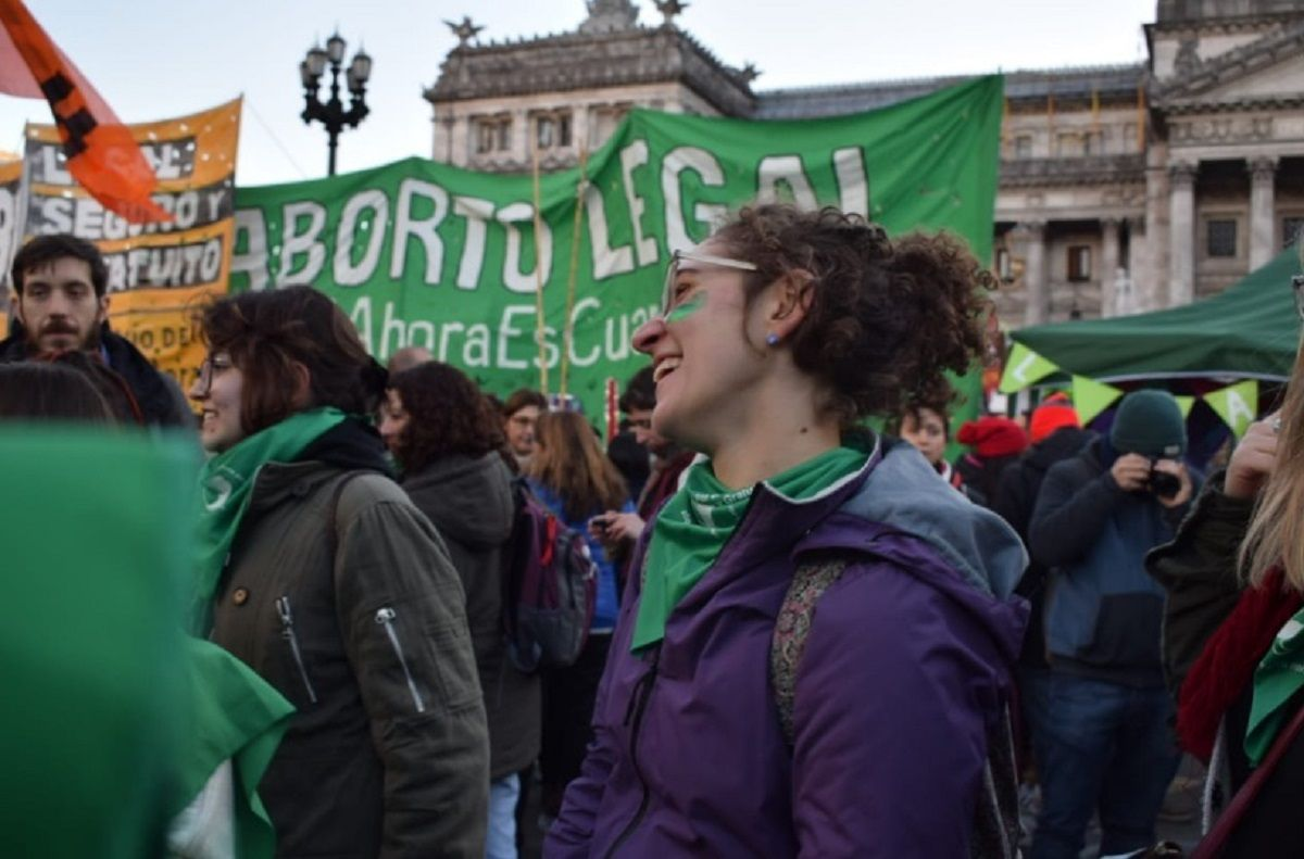 Aborto legal - Crédito: @CampAbortoLegal