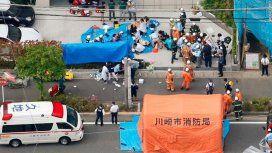 Horror en Japón: al menos dos muertos por un ataque a cuchillazos