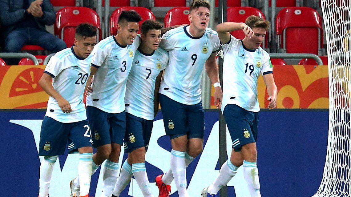 La Selección argentina Sub 20 se mide ante Mali por los octavos de final del Mundial de Polonia