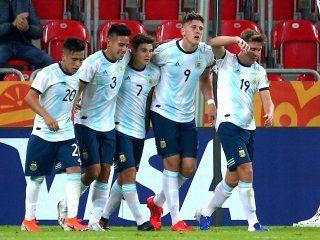 la seleccion argentina sub 20 derrota a portugal y pone un pie en octavos de final