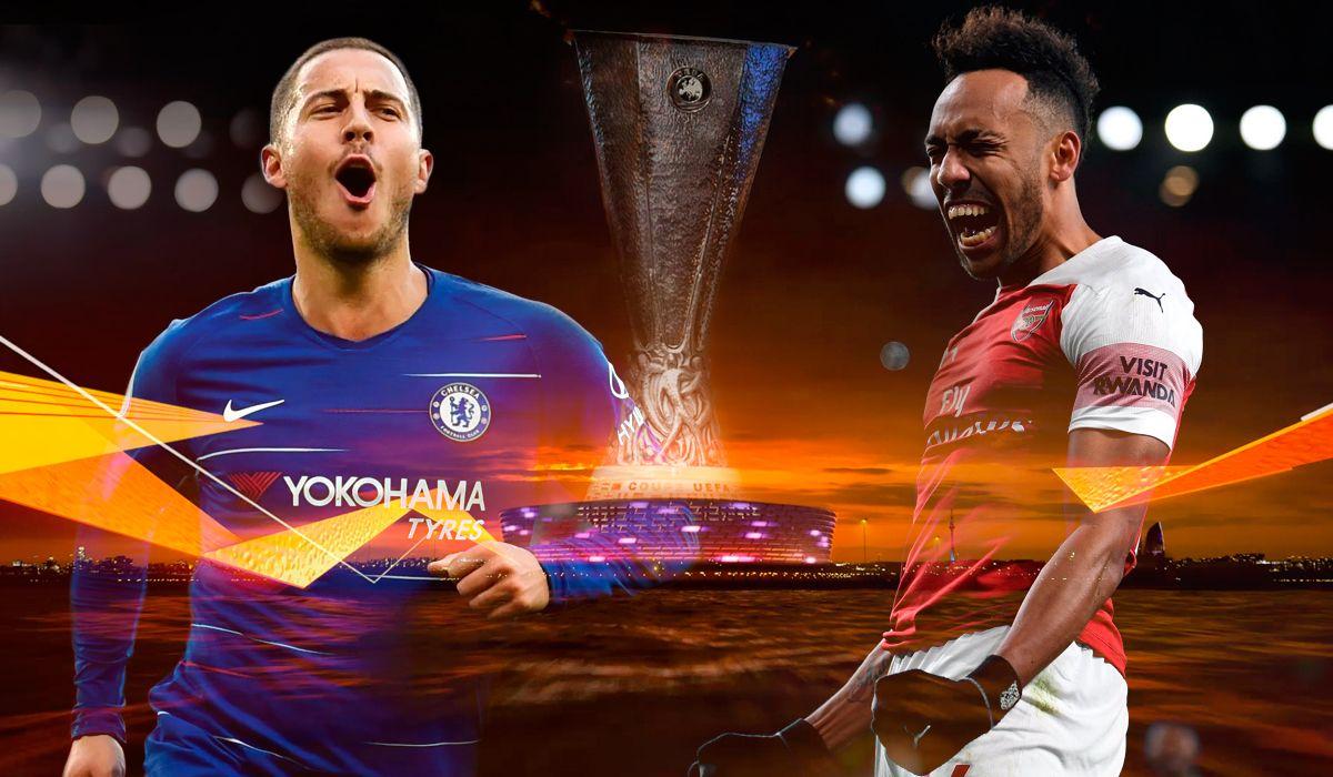 En una final bañada por conflictos políticos, Chelsea y Arsenal van por el título de la Europa League