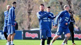 Lionel Messi entrenó por primera vez con la Selección de cara a la Copa América