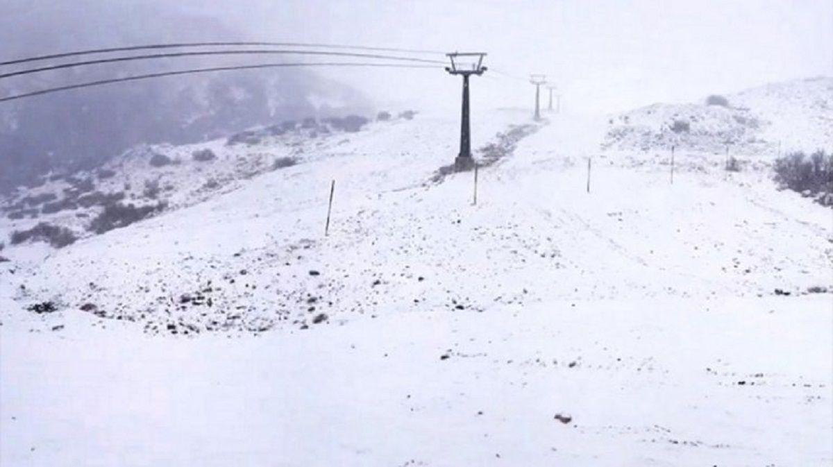 Bariloche disfruta de su primera nevada