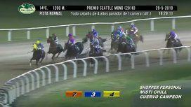 Hipódromo de San Isidro: dos jockeys quedaron heridos tras una rodada de cuatro caballos