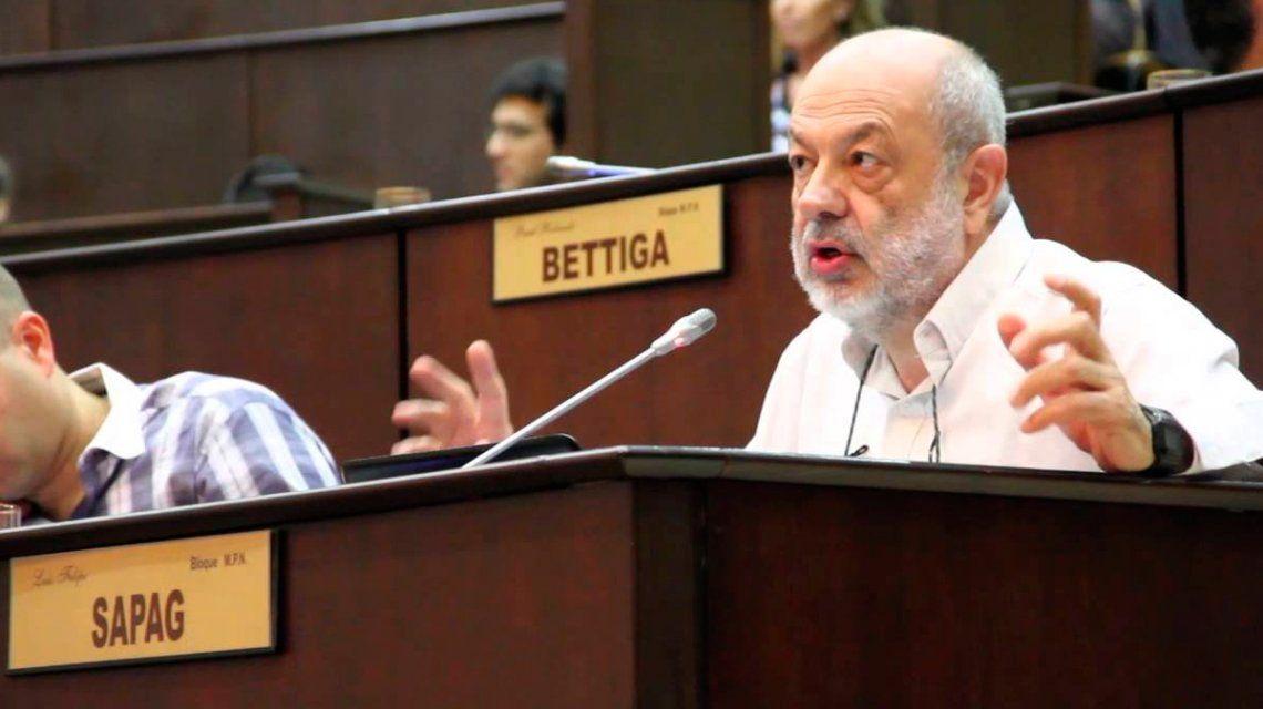 Murió el diputado neuquino Luis Felipe Sapag