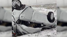 Dos militares murieron en un fuerte choque sobre la Ruta 40