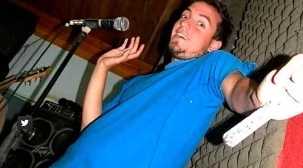 Diego Cagliero tenía 30 años y era cantante de una banda que tenía con sus amigos.