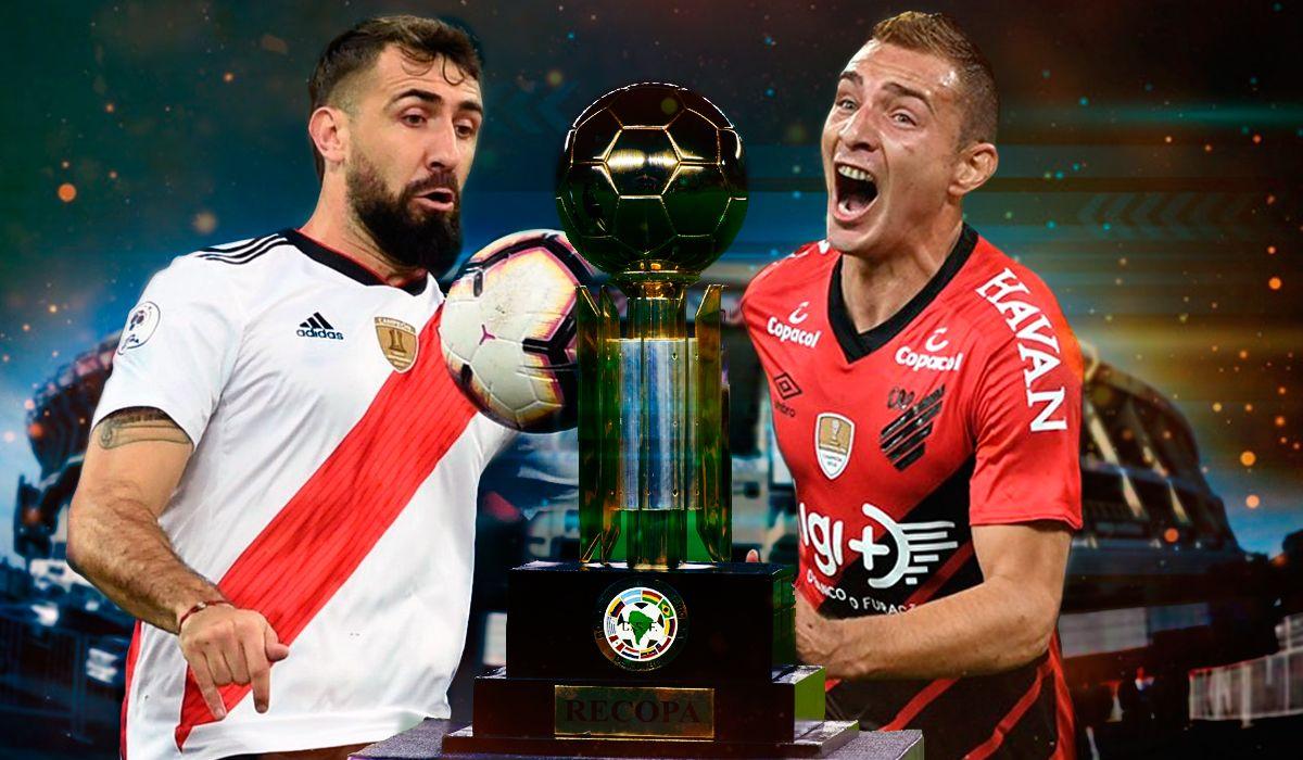 River vs. Athletico Paranaense por la Recopa Sudamericana: horario, formaciones y TV