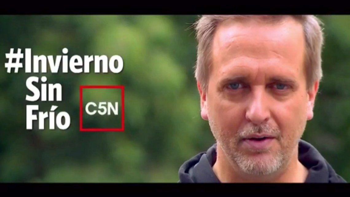 #InviernoSinFrío: la campaña de C5N a favor de los hogares de niños