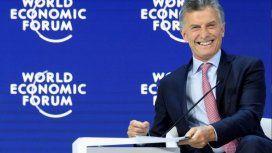 Mauricio Macri en Davos