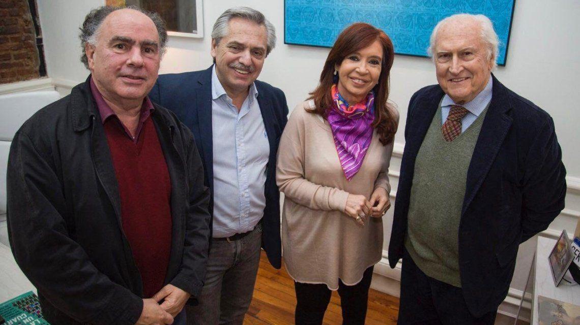Con una foto, Alberto Fernández confirmó el respaldo de Proyecto Sur a su precandidatura