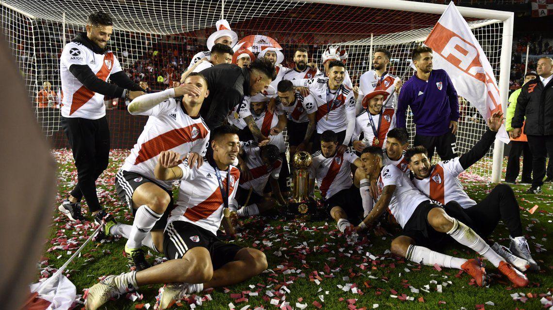 River campeón de la Recopa: así quedó la tabla de títulos internacionales de los equipos argentinos