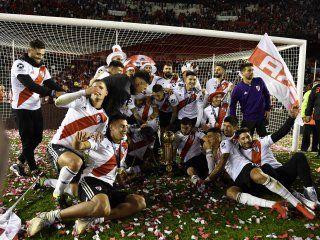 river campeon de la recopa: asi quedo la tabla de titulos internacionales de los equipos argentinos