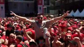 Dale alegría a mi corazón: el himno de los hinchas de Liverpool antes de la final